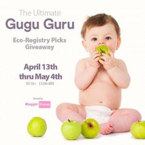 Enter The Ultimate Gugu Guru Eco-Registry Picks Giveaway- Ends 5-4-16- US 18+- ARV $1200!