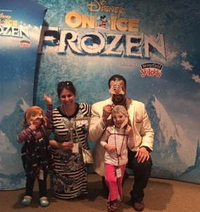 TarynP Frozen VIP family picture