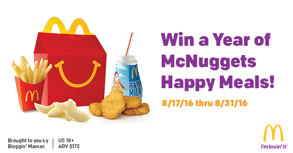 Post image of South Florida Moms Win a Year of Chicken McNuggets Happy Meals