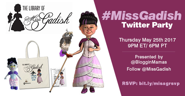 Miss Gadish Twitter Party 5-25-17 at 9p ET
