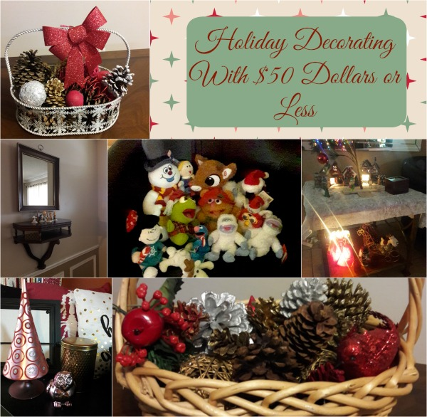 Post image of Holiday Decorating With $50 Dollars or Less